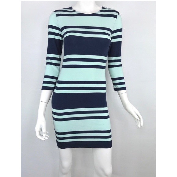 French Connection Dresses & Skirts - {French Connection} Jag Multi Stripe Dress